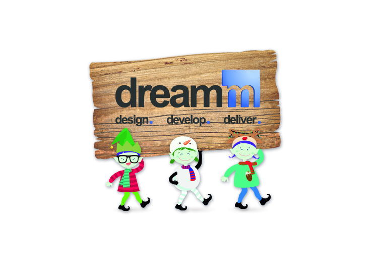 dreamm christmas card image